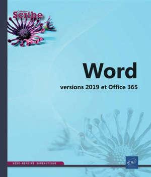 Word : versions 2019 et Office 365