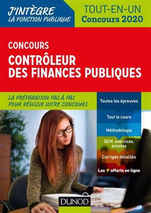 Concours contrôleur des finances publiques : tout-en-un : concours 2020