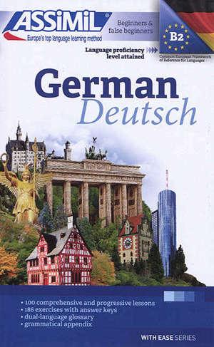 German : beginners & false beginners : language proficiency level attained B2