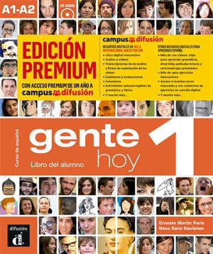 Gente hoy 1, curso de espanol, A1-A2 : libro del alumno