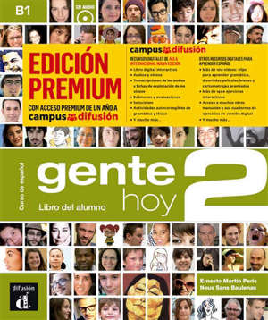 Gente hoy 2, curso de espanol, B1 : libro del alumno