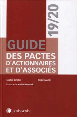 Guide des pactes d'actionnaires et d'associés 2019-2020