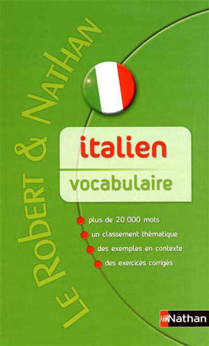 Italien, vocubulaire