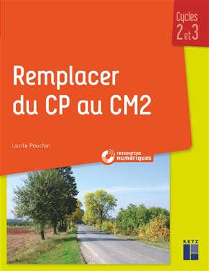 Remplacer du CP au CM2 : cycles 2 et 3