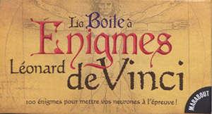 La boîte à énigmes Léonard de Vinci : 100 énigmes pour mettre vos neurones à l'épreuve !