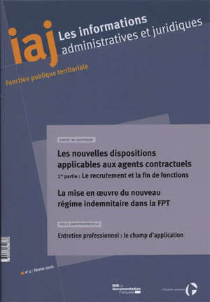 Informations administratives et juridiques. n° 2 (2016)