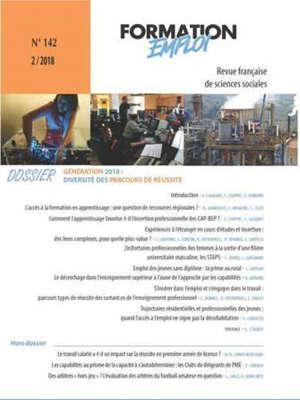 Formation emploi, Génération 2010 : diversité des parcours de réussite