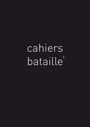 Cahiers Bataille, n° 5. Bestiaire Bataille