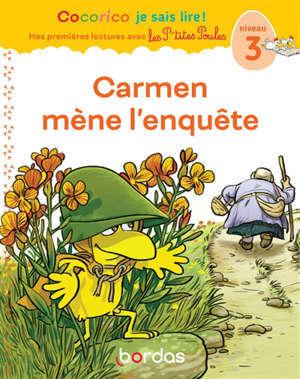 Carmen mène l'enquête : niveau 3