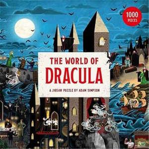The World of Dracula A Jigsaw Puzzle /anglais