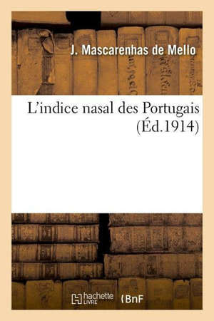 L'indice nasal des Portugais