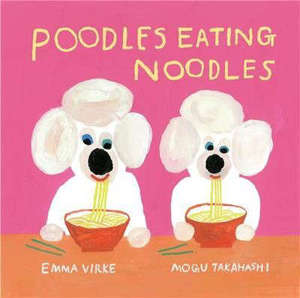Poodles Eating Noodles /anglais