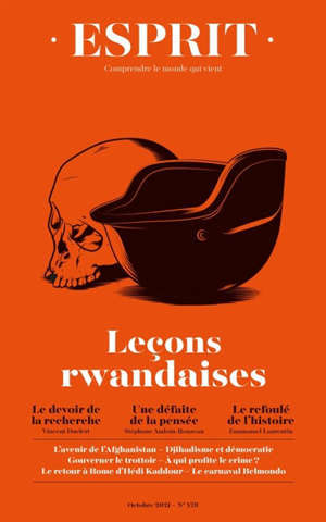 Esprit, n° 478. Leçons rwandaises