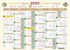 Calendrier romain familial catholique 2022