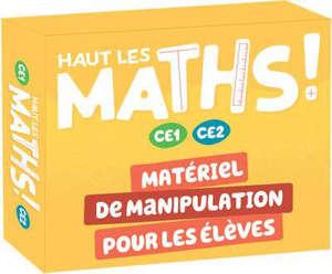 Haut les maths ! CE1, CE2 : matériel de manipulation pour les élèves