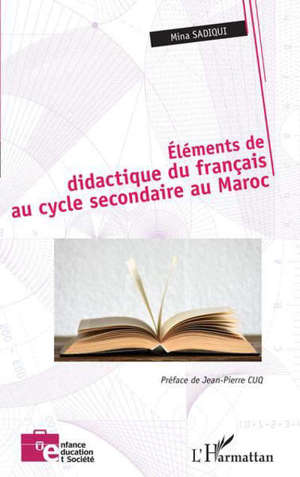 Éléments de didactique du français au cycle secondaire au Maroc