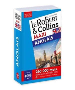 Le Robert & Collins anglais maxi : français-anglais, anglais-français