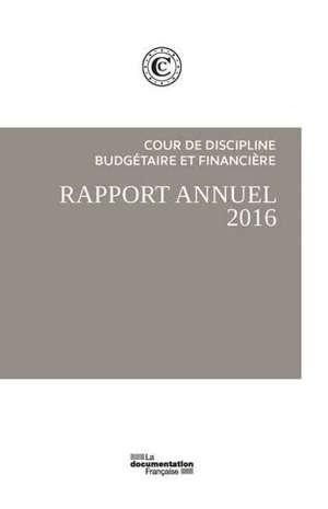 Le rapport public annuel 2016