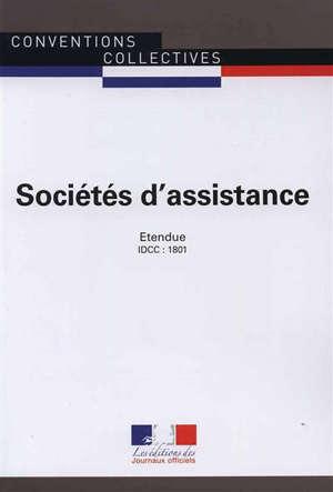 Sociétés d'assistance (IDCC : 1801) : convention collective nationale du 13 avril 1994 (étendue par arrêté du 8 février 1995)
