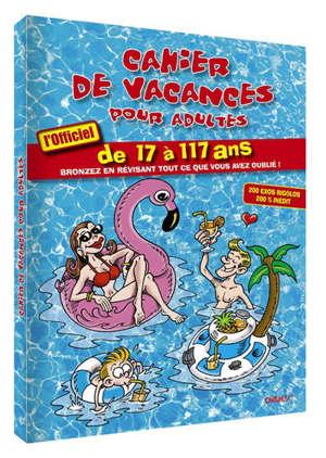 Cahier de vacances pour adultes : 2019