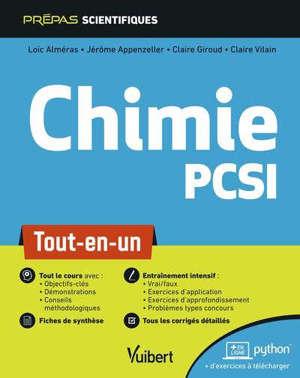 Chimie : PCSI : tout-en-un