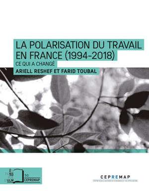 La polarisation du travail en France (1994-2018) : ce qui a changé