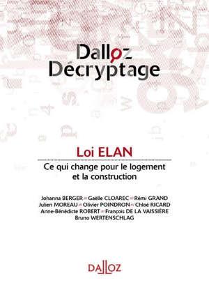 Loi Elan : ce qui change pour le logement et la construction