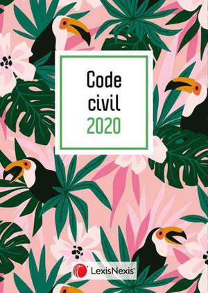 Code civil 2020 : jaquette toucan