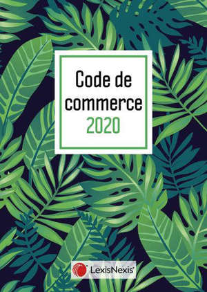 Code de commerce 2020 : jaquette tropical