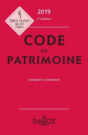 Code du patrimoine 2019