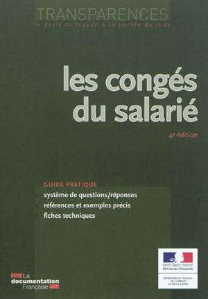 Les congés du salarié