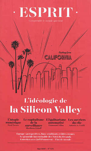 Esprit. n° 454, L'idéologie de la Silicon Valley