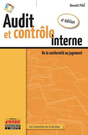 Audit et contrôle interne : de la conformité au jugement