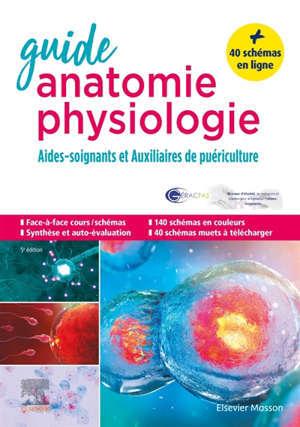 Guide anatomie et physiologie pour les AS et AP : aides-soignants et auxiliaires de puériculture : la référence