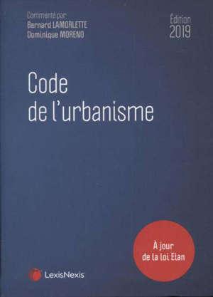 Code de l'urbanisme 2019 : à jour de la loi Elan