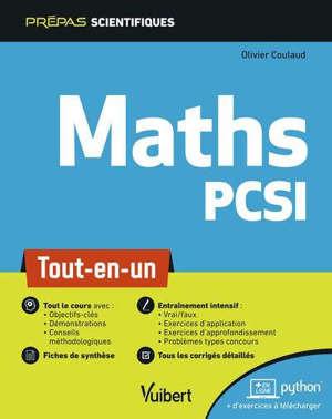 Maths PCSI : tout-en-un