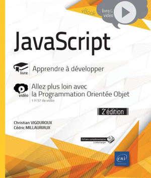 JavaScript : livre, apprendre à développer avec JavaScript : vidéo, allez plus loin avec la programmation orientée objet
