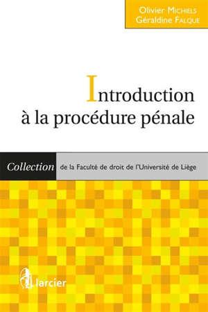 Introduction à la procédure pénale