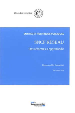SNCF réseau : des réformes à approfondir : rapport public thématique, décembre 2018