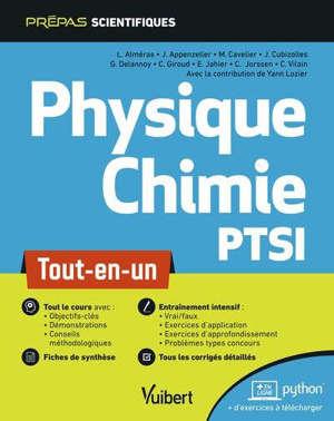 Physique chimie PTSI : tout-en-un