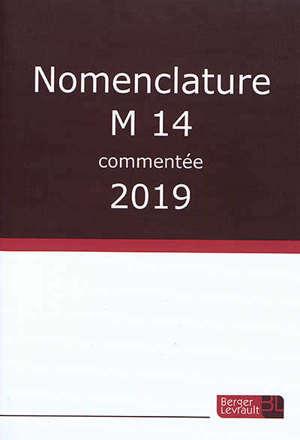 Nomenclature M14 commentée : 2019