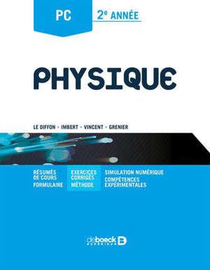 Physique : PC,  2e année
