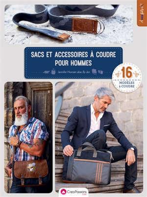 Sacs et accessoires à coudre pour hommes : 16 modèles à coudre