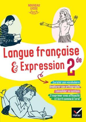 Langue française & expression 2de