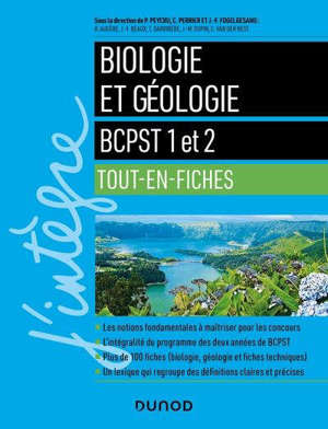 Biologie et géologie : BCPST 1 et 2 : tout-en-fiches