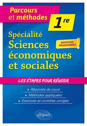 Spécialité sciences économiques et sociales, 1re : nouveaux programmes