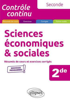 Sciences économiques et sociales, 1re : nouveaux programmes