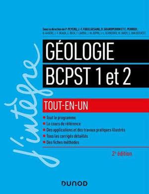 Géologie tout-en-un : BCPST 1 et 2