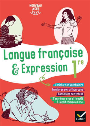 Langue française & expression 1re