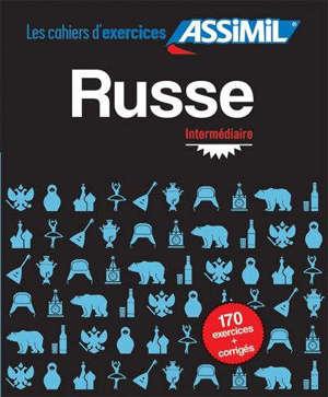 Russe : intermédiaire : 170 exercices + corrigés